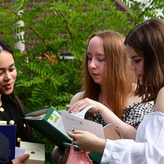St Edward's School Celebrates A Level Success